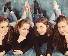 Chastity Belt's new album, Time To Go Home, comes out March 24.