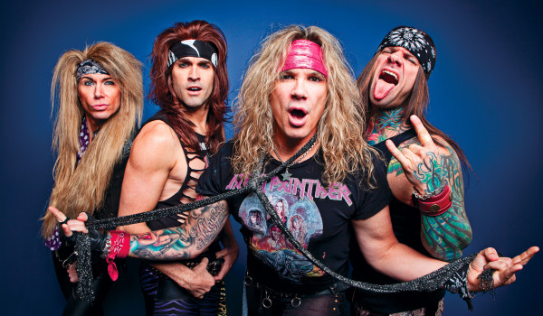 Steel Panther photographed at the O2 Academy in Birmingham, UK March 27, 2012. © Ashley Maile