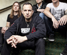 Tremonti press shot 2012 October 11, 2012 © Ashley Maile