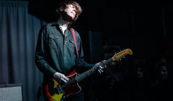 LOS ANGELES, CALIFORNIA - DECEMBER 15: Thurston Moore performs onstage at the Zebulon on December 15, 2019 in Los Angeles, California. (Photo by Emma McIntyre/Getty Images)