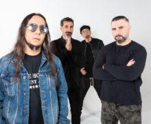 L-R:  Daron Malakian, Serj Tankian, Shavo Odadjian, John Dolmayan